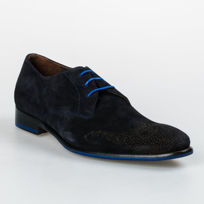 van bommel schoenen suède